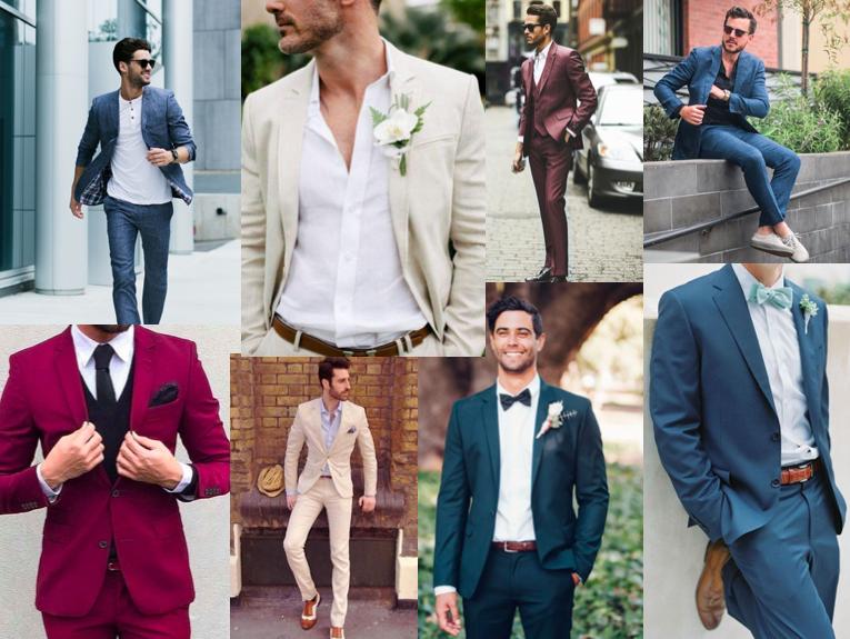 Het pak als kleding voor de man bij een bruiloft