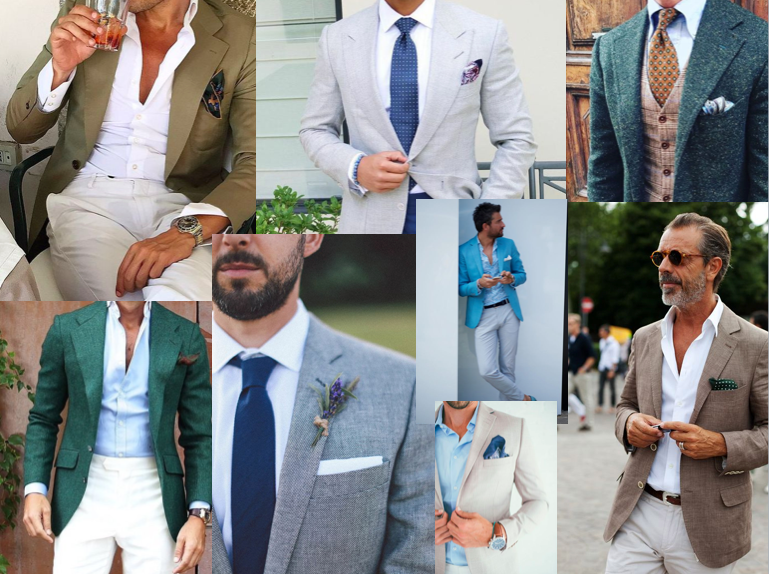 Smart casual als kleding voor de man bij een bruiloft