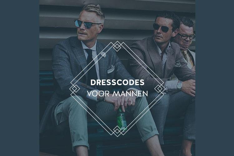 dresscodes mannen