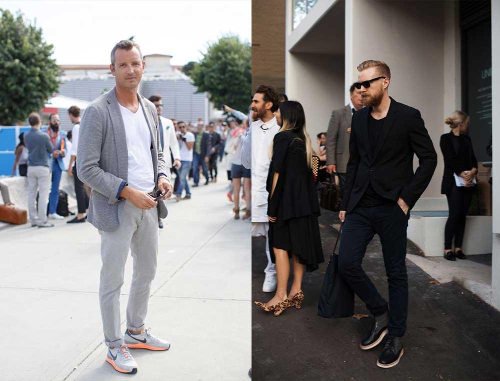 Lichte spijkerbroek combineren mannen