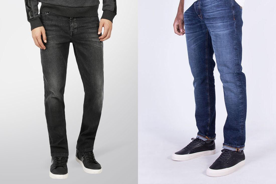 Geen skinny jeans meer!