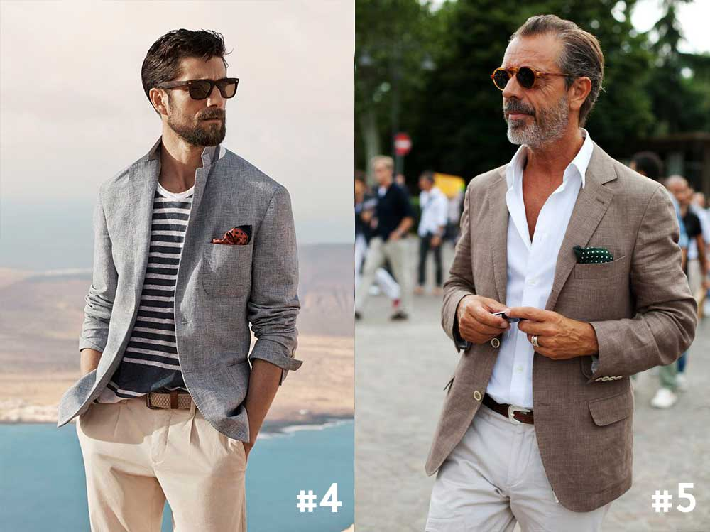 Witte blouse combineren heren