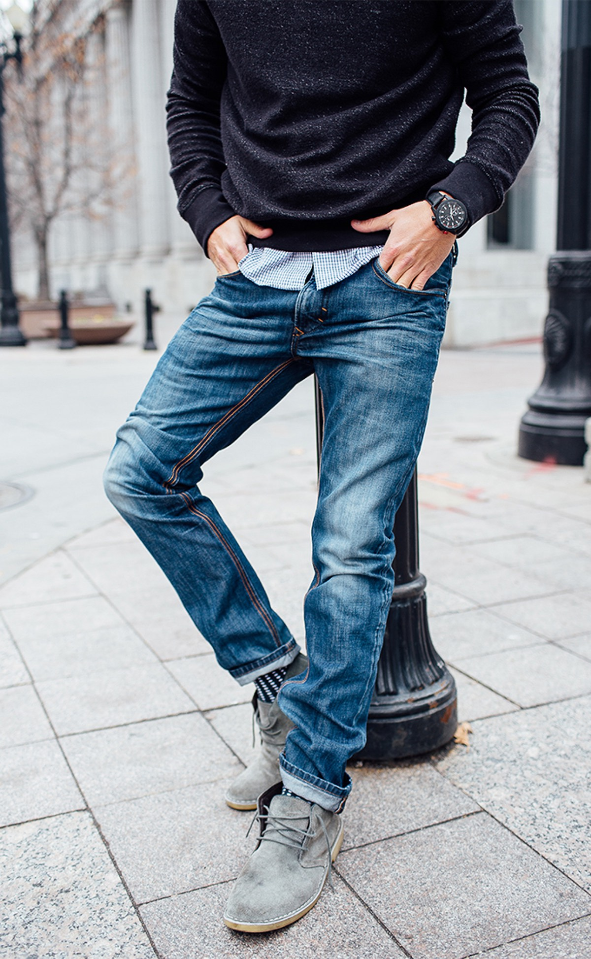 relaxte jeans