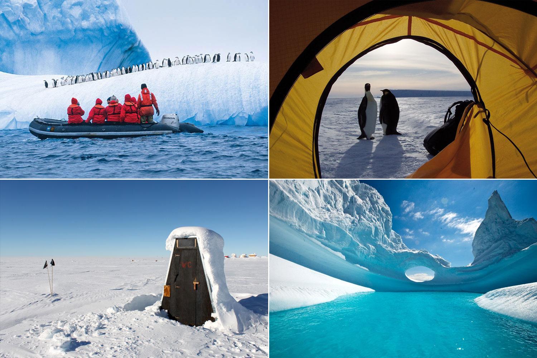 Antarctica (mooiste vakantiebestemmingen)