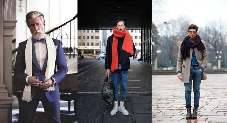 Contrasterende-sjaals
