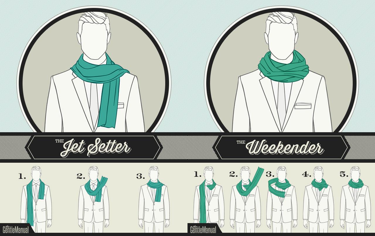 Hoe draag je een sjaal?
