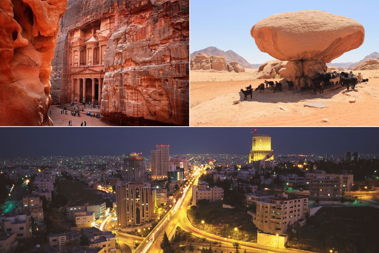 Jordanië (mooiste vakantiebestemmingen)