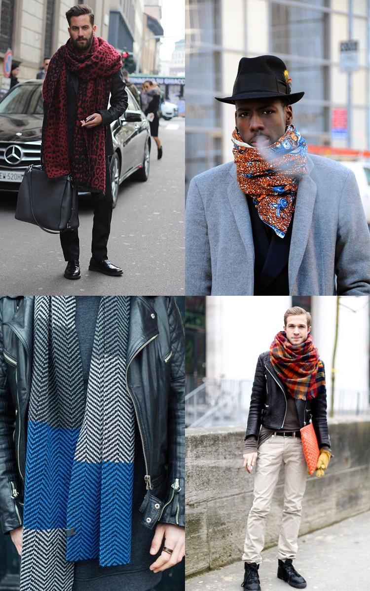 Sjaals met printjes