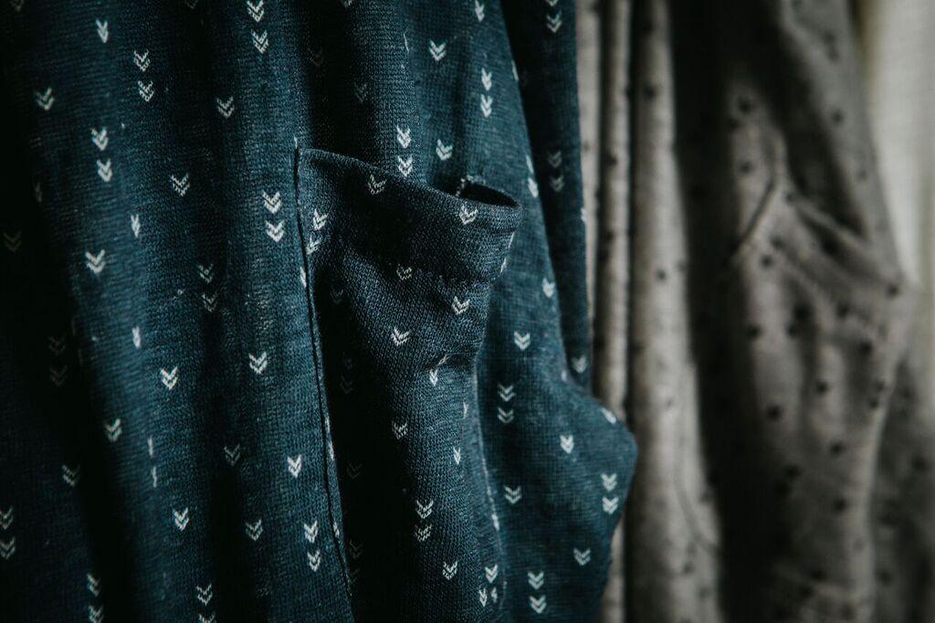 Good People blouse print