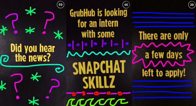 Hubgrub Snapchat