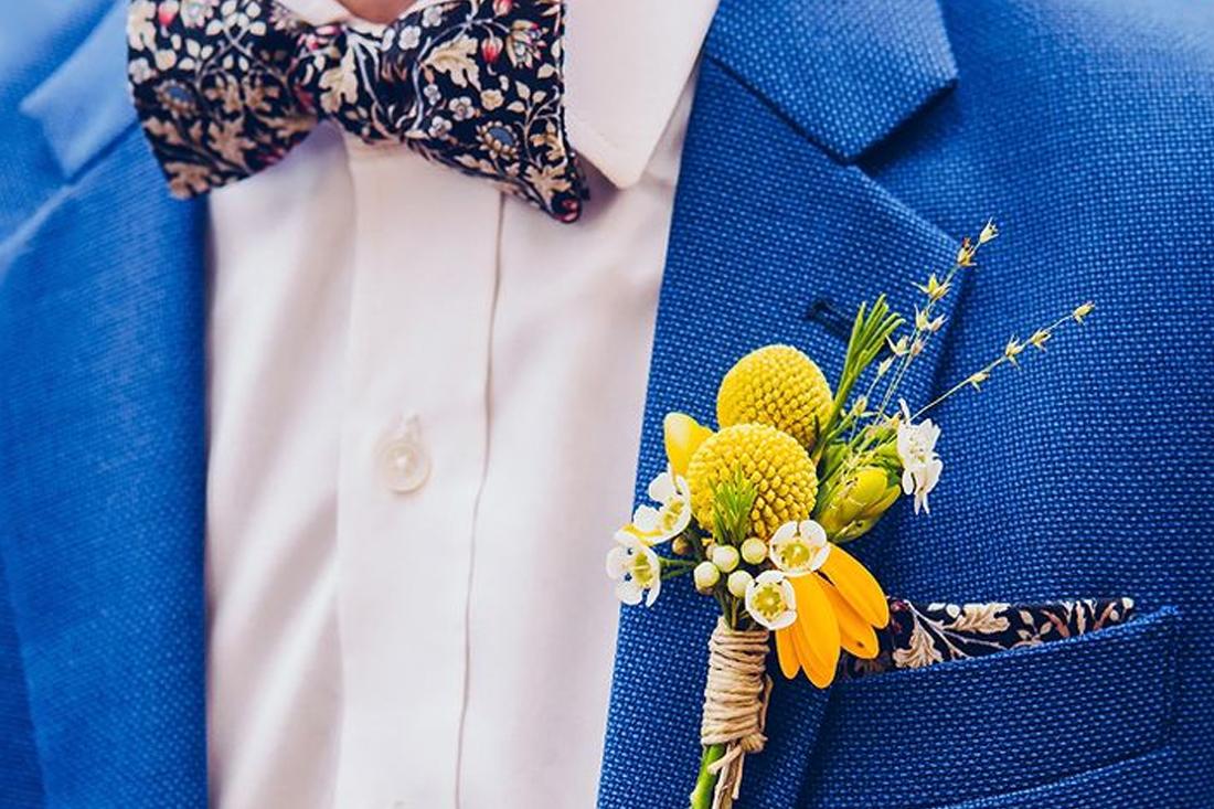 Summer chique bruiloft kleding man