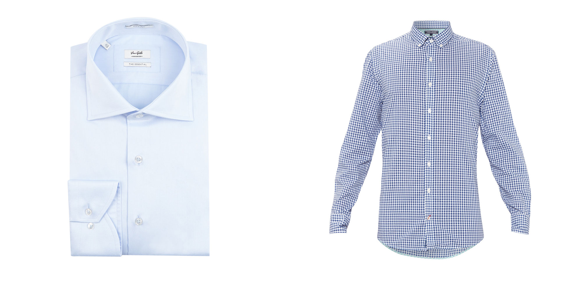 Wel of geen button down?