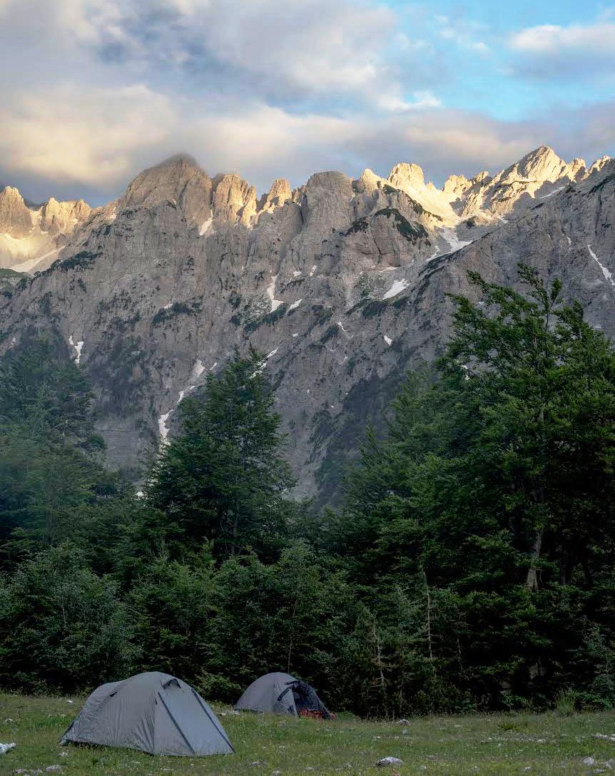 Albanië bergen