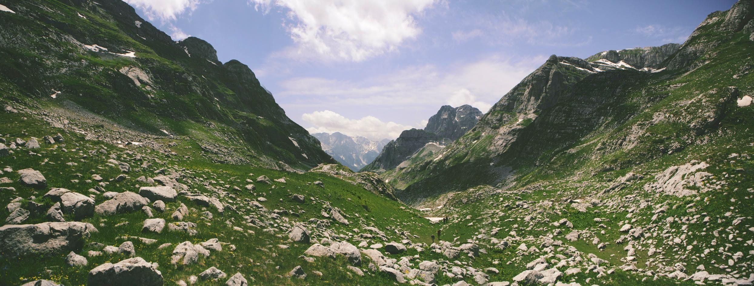 Bergen Albanië
