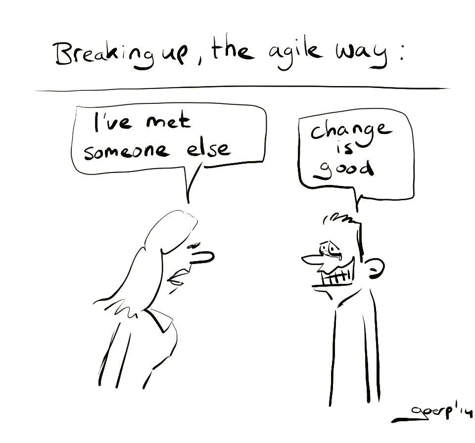 Agile breakup