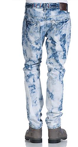 Gebleekte jeans
