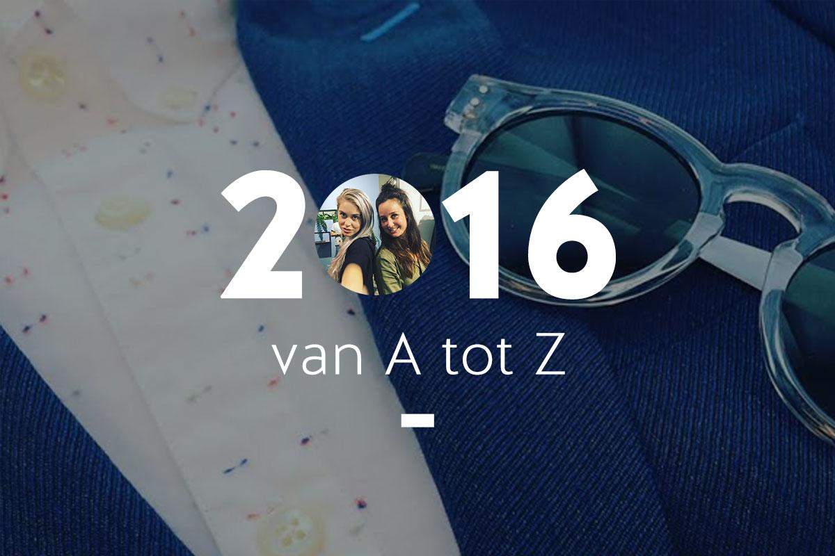2016 jaaroverzicht