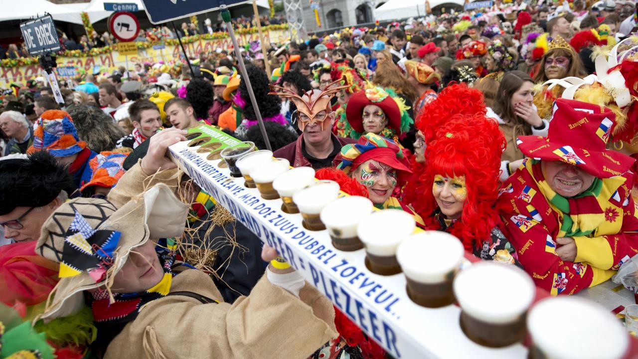 Carnaval en bier