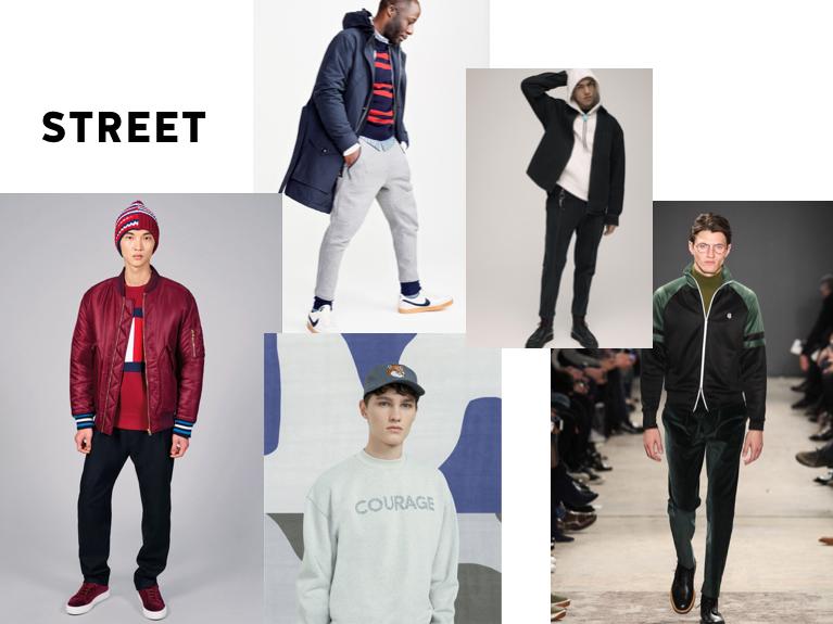 street herenkleding trends 2017